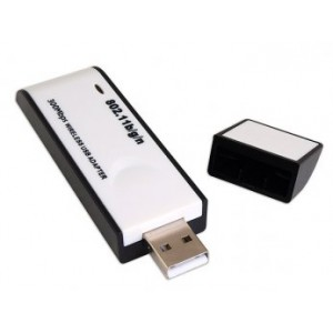 USB Wireless N Adapter Transfers At Up To 300Mbps