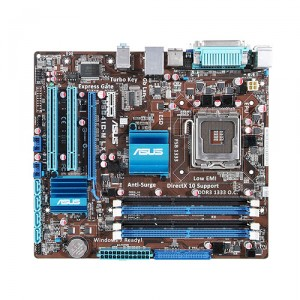 Asus P5G41C-M LX Socket 775 Motherboard with DDR2 and DDR3