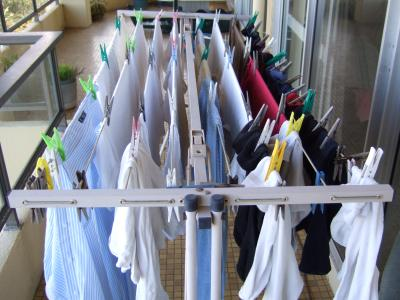 Mrs peggs handy line is a sturdy yet light and portable clothes line