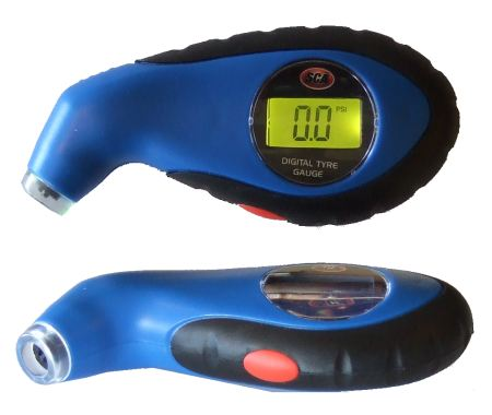 SCA Illuminated Digital Air Pressure Gauge
